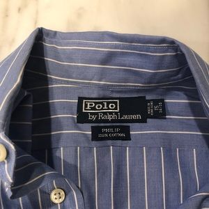 RALPH LAUREN POLO Dress Shirt 15 34/35 EUC